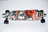 Скейтборд длинней доски электрический с двойными моторами