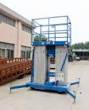 plataforma de trabalho aéreo hidráulica de alumínio do mastro 12meters (GTWY12-300SA)