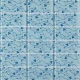 熱い販売法の白いガラスモザイク床のタイル