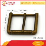 Gli accessori dell'indumento e del sacchetto di la pressofusione & gli inarcamenti di cinghia d'ottone in lega di zinco