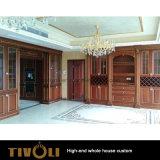 Estilo clássico de América toda a obra de carpintaria de madeira Tivo-028VW dos quartos