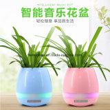 Crisol de flor elegante de la música de Bluetooth con la luz del LED