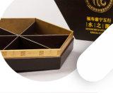 Kundenspezifischer Klimahexagon-Papier-Nahrungsmittelgeschenk-Kasten