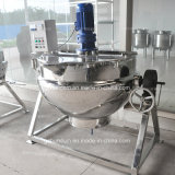 Sucre continu faisant cuire la bouilloire de Brew de machine revêtue