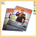 Fachmann fertigen Zeitschriften-Drucken mit bestem Preis und Qualität kundenspezifisch an