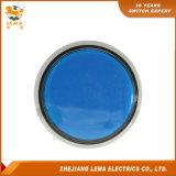 IP40 보호 수준 60.8mm 파란 LED 누름단추식 전쟁 스위치 Pbs-005