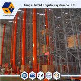Sistema de recuperação automatizado high-density do armazenamento