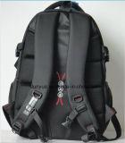 エクスポートされた最も新しい19インチの耐久のナイロンノートのバックパック袋、黒く標準的な様式の実用的な学校の多機能のラップトップのバックパック