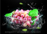 Supermarkt-transparentes frisches Tellersegment-Frucht-Tellersegment
