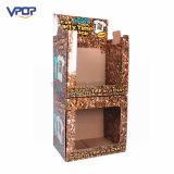 Boîte de présentation empilable de carton pour des cuvettes sur le marché superbe