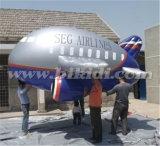 Aeroplano gonfiabile gigante dell'elio, velivolo piano gonfiabile K7102 del dirigibile del PVC