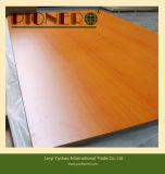 1220X2440X18mm Mélamine MDF avec mélamine de couleur blanche pour meubles