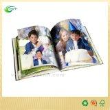 Изготовленный на заказ книжное производство книга в твердой обложке с штемпелевать фольги (CKT- CB-009)