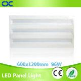 Iluminación del panel de la iluminación del modelo nuevo 96W 1200X600m m LED del Ce