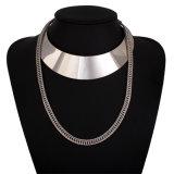 Monili della collana del Choker del progettista della catena di strato della lega del metallo di modo multi