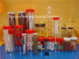Коробка ясности промотирования фабрики Китая пластичная круглая для пакета еды (пластичная круглая коробка)