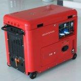 O Ce do fio de cobre do bisonte (China) BS3500ds 3kVA 3000W aprovou gerador silencioso garantido 1 ano refrigerado a ar do diesel do Portable 3kw