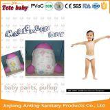 Pantalones disponibles de Traing de la fábrica de China para los bebés