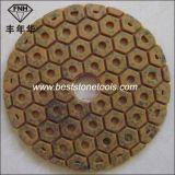 Hexagonaal Stootkussen wd-14 van de Diamant van het Metaal van de Hars