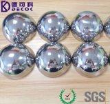 """空の半分の鉄の球3の""""穏やかなステンレス鋼半球"""
