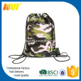Trouxa barata do Drawstring camuflar do poliéster
