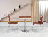 Tableau en gros du restaurant 2-Seat avec les pattes d'acier inoxydable (NK-DTE333)