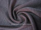 4つの方法伸張ポリエステルLycraファブリックスポーツ・ウェアのActivewearのヨガによってはファブリックが喘ぐ