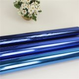 Papel quente transparente Multifunctional da folha de carimbo/folha azul holográfica/plástica