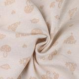Tissu de tricotage organique de tissu de coton avec la conformité d'Okeo