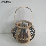 Lanterna de bambu para decoração e presente para casa