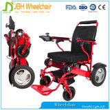 Sillón de ruedas plegable eléctrico del uso de la persona lisiada