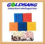 벽돌 모양 실리콘 아이스 큐브 쟁반