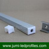 Perfil suspendido o fijado del alumbrado de la tira del aluminio LED