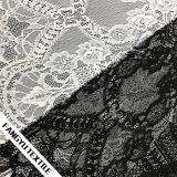 Tela elástica do laço do aparamento do laço do estiramento para o vestido das senhoras