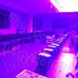 Interior de la etapa de iluminación 54X3W RGBW LED PAR