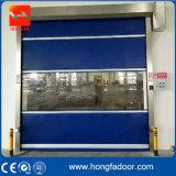 Porte rapide d'obturateur de roulement|Porte d'obturateur de PVC de rouleau de grille (HF-20)