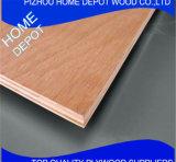 Переклейка кожи двери Okoume тополя материальная в горячем сбывании
