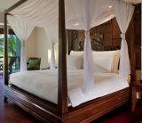 환대 호두 휴양지 호텔을%s 단단한 티크 나무 4 포스터 침대 가구