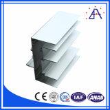 Châssis de fenêtre en aluminium commerciaux de brillant de Changhaï