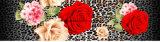 100%Polyester de luipaard nam Pigment&Disperse Afgedrukte Stof voor de Reeks van het Beddegoed toe