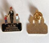 Pin macio do Lapel da lembrança do esmalte do metal do ouro da qualidade