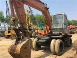 Excavatrice utilisée de roue de Hitachi Ex100wd-1, excavatrice Ex100wd-1 de roue de Hitachi