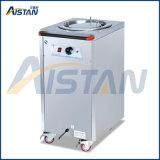 Machine électrique de chariot de réchauffeur de plaque Er2 de matériel de restauration