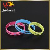 Wristband feito sob encomenda barato colorido da atividade do bracelete do silicone da impressão