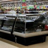 O Ce 2500mm Auto-Seriu o refrigerador do indicador da carne para o alimento fresco