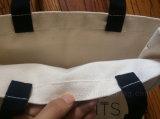 Sacchetto di acquisto promozionale del Tote del cotone della tela di canapa (hbco-104)
