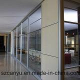 Frameless 유리제 사무실 분할, 유리제 칸막이벽, 유리제 분배자
