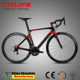Bicicleta Superlight do carbono da estrada de 700c 22speed 105 Groupset