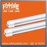 18W 재충전용 긴급 LED T8 관 램프, LED 관 빛