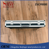 PVC de alumínio do painel do ABS do frame da produção profissional dentro dos casos cosméticos